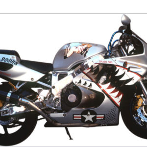Scott Chester - Acid Fighter Motorcycle